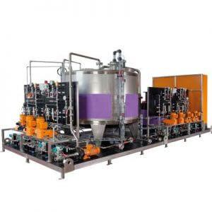 Base Sistemas. Prominent Sistema de dosifican de alta presión