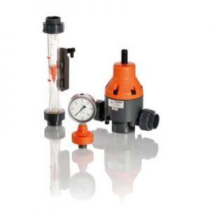Base Sistemas. Stubbe Rotámiento, manómetro y válvula de alivio