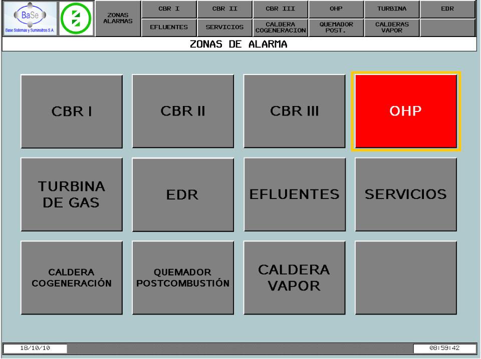 Base Sistemas. Centrastor HMI